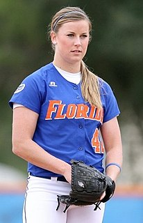 Stacey Nelson All-American college softball player, U.S. National softball team member, pitcher