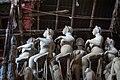 Stack of semifinished idols in Kumortuli, Kolkata.jpg