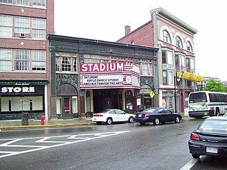 Woonsocket, Rhode Island - Stadium Building