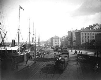 Stadsgården - Stadsgården in 1896.