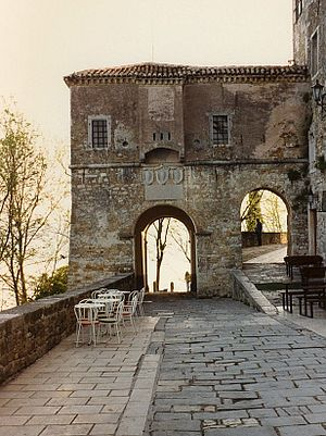 Motovun - City gate
