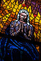 Stained-glass pattern, Saint Vitus Cathedral. Prague, Czech Republic, Western Europe. Jaunuary 8, 2014.jpg