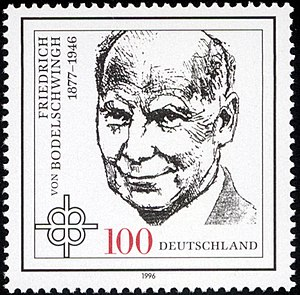 Prussian Union of Churches - Friedrich von Bodelschwingh jun. (stamp of 1996)
