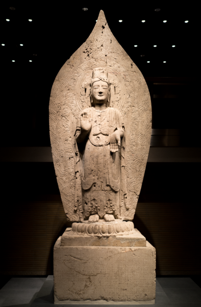 File:Standing Bodhisattva - Northern Qi dynasty, dated 552.tiff