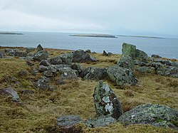 Standing Stones of Yoxie, Whalsay, Shetland - geograph.org.uk - 146051.jpg