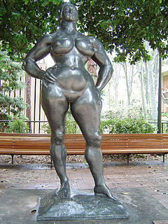 <i>Standing Woman</i> sculpture by Gaston Lachaise