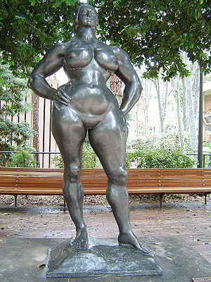 Gaston Lachaise - Standing Woman at UCLA, 1932