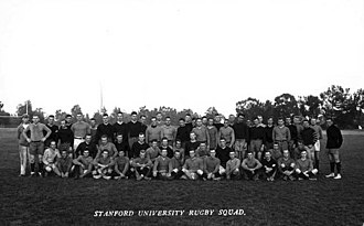 1906–17 Stanford rugby teams - The Stanford University team that played the All Blacks in 1913.