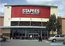 Staples inc wikipedia the typical design for more recently built locations this location is located in ontario california reheart Images