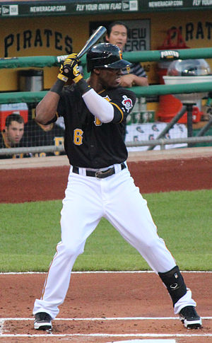 Starling Marte - Marte with the Pittsburgh Pirates
