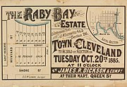StateLibQld 2 262824 Estate map of Raby Bay Estate, Raby Bay, Queensland, 1885
