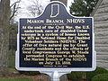 State Historic marker (obverse) PB190312.JPG