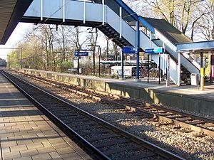 Hilversum Media Park railway station - Image: Station Hilversum Noord