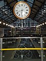Station clock, Earls Court Underground Station - geograph.org.uk - 1638310.jpg