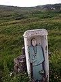 Statue, townland of Minte Coaorachin An Chruach Bheag - geograph.org.uk - 871224.jpg