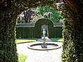 Statue in the walled gardens, Wakehurst Place - geograph.org.uk - 809391.jpg