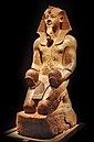 Statue des Pharaos Amenophis II.