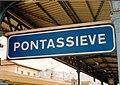 Stazione di Pontassieve anni novanta.jpg