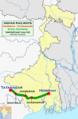 Steel Express (Howrah - Tatanagar) Route map.png