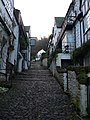 Steeply upwards at Clovelly - geograph.org.uk - 1611799.jpg