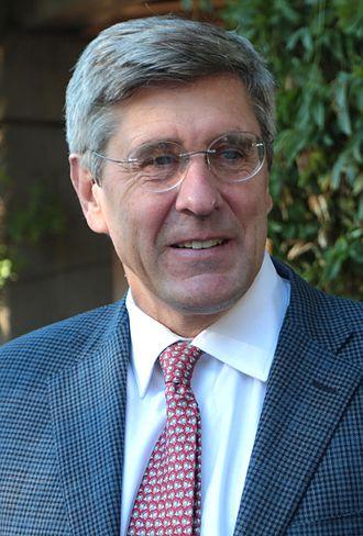 Stephen Moore (writer) - Moore in 2016