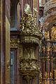 Stiftskirche Melk Kanzel 02.JPG