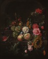 Still Life with Flowers and Fruit (Cornelis de Heem) - Nationalmuseum - 17458.tif