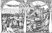 Engraving of the Stockholm Bloodbath