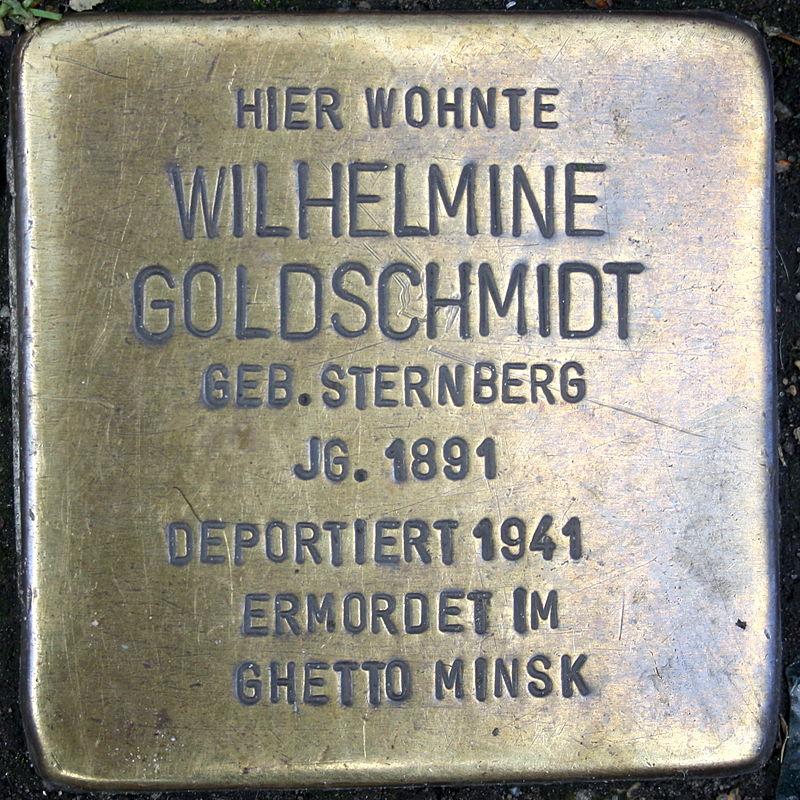 Wilhelmine Goldschmidt