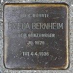 Stolperstein Frieda Bernheim Müllheim.jpg