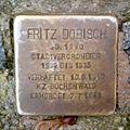 Stolperstein Fritz Dobisch (Rathausplatz 1, Saarbrücken).jpg