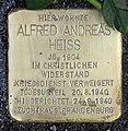 Stolperstein Georg-Wilhelm-Str 3 (Halsee) Alfred Andreas Heiss.jpg