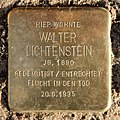 Stolperstein Helgoländer Ufer 6 (Moabi) Walter Lichtenstein.jpg