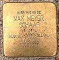 Stolperstein Kleve Pannofenstraße 5 Max Meyer Schaap.jpg