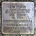 Stolperstein Mozartstr 10 (Lankw) Alice Scherk.jpg