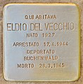 Stolperstein für Eldio Del Vecchio (Rom).jpg