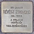 Stolperstein für Zsigmond Revesz (Budapest).jpg