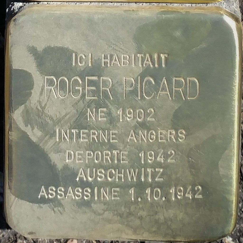 Stolperstein Roger Picard (Herrlisheim-près-Colmar)