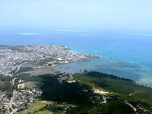 Mjini Magharibi Region - Aerial view of Stone Town