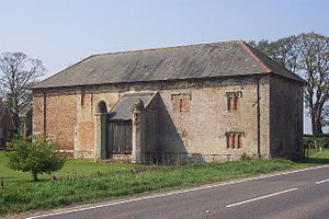 Bexwell - Stone barn at Bexwell