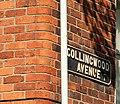 Street sign, Belfast - geograph.org.uk - 1453115.jpg