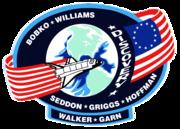 Missionsemblem STS-51-D