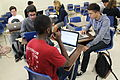 Students in Professor Patricia Fancher's UCSB Writing Program course work on their Wikipedia assignments..jpg