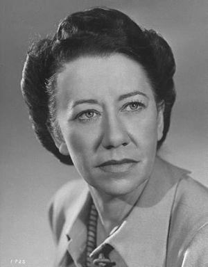 Flora Robson - 1940s Publicity photo Flora Robson