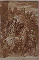 Study for the Armistice between King Francis I of France and Emperor Charles V, fresco in the Palazzo Farnese, Caprarola MET 80.3.4.jpg