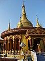 Stupa of Dhatu Jadi Temple - Near Bandarban - Chittagong Hill Tracts - Bangladesh.jpg