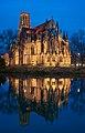 Stuttgart - West - Johanneskirche im Feuersee zur blauen Stunde.jpg