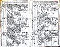 Subačiaus RKB 1827-1830 krikšto metrikų knyga 055.jpg
