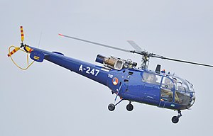 Aérospatiale Alouette III - A Netherlands Air Force Alouette III during '100th Anniversary of Dutch Military Aviation' airshow