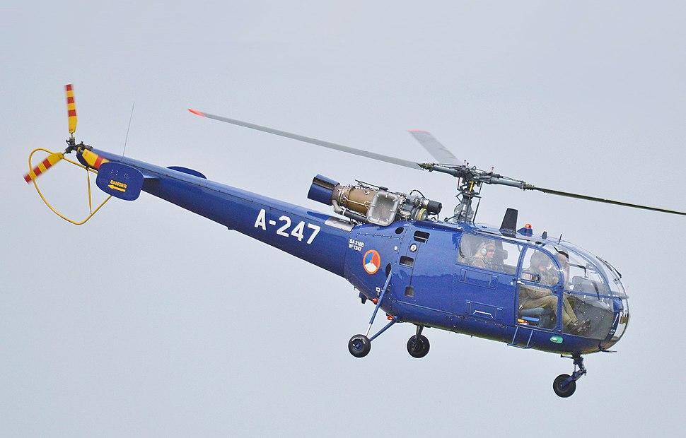 Sud SA 316B Alouette III A-247 (cropped)